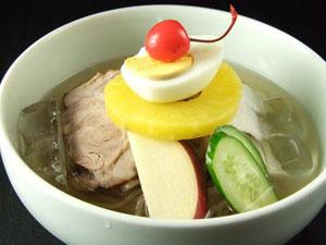 冷麺スープ